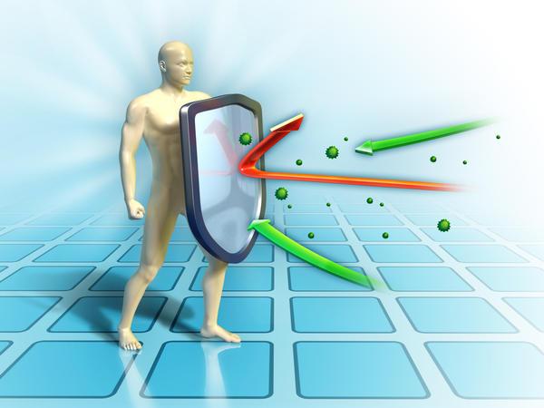 иммунитет сдерживает развитие грибка стопы