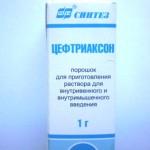 Цефтриаксон: антимикробный препарат