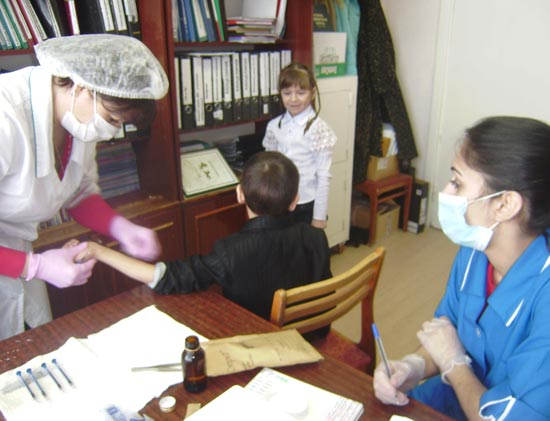 массовая туберкулинодиагностика в школе