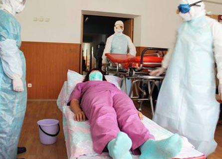 оказание помощи больному при холере