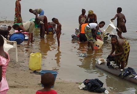 вода из реки Конго