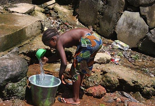 отсутствие питьевой воды и эпидемии