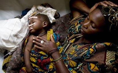 эпидемия холеры в Гоме