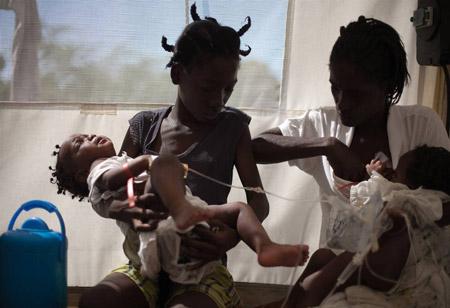холера у ребенка