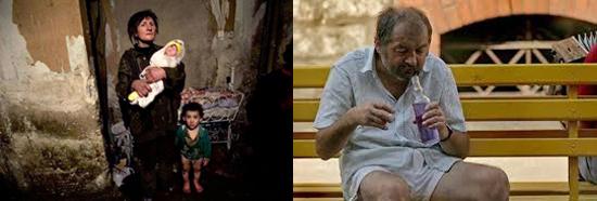 материальные лишения, нищета, голод и пьянство способствуют туберкулезу