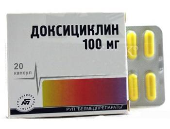 доксициклин - средство против болезни Лайма