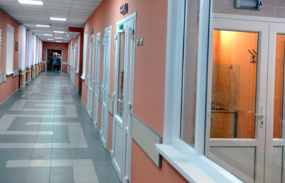 инфекционная больница с боксированными палатами
