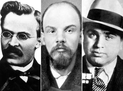 Ницше, В. Ленин и Аль Капоне
