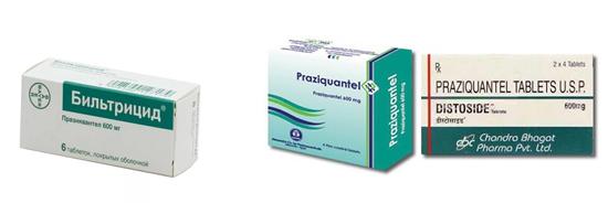 противогельминтные препараты проивоглистные