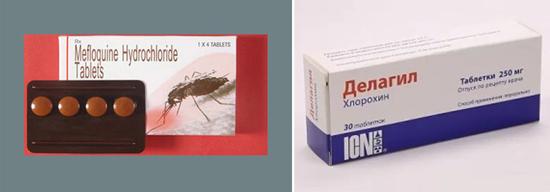 профилактика малярии препараты таблетки