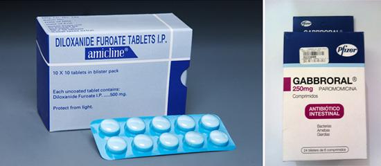 препараты для подавления Entamoeba histolytica