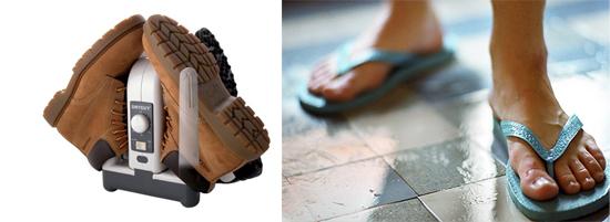 сушка обуви - профилактика грибка стоп