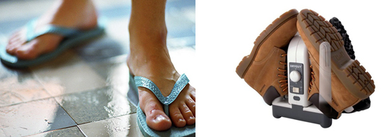 профилактика грибка на ногах