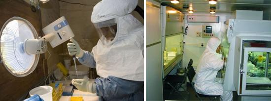 Работа с высокозаразными и высокопатогенными микроорганизмами