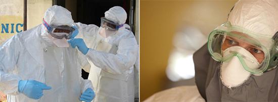 работа с вирусами Эбола