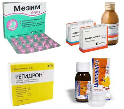 лечение пищевых отравлений
