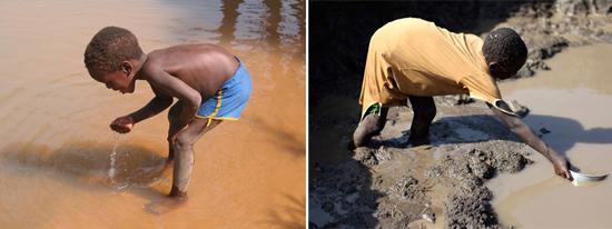 нехватка чистой воды