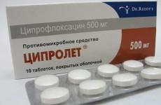 Ципролет: антибиотик широкого диапазона действия
